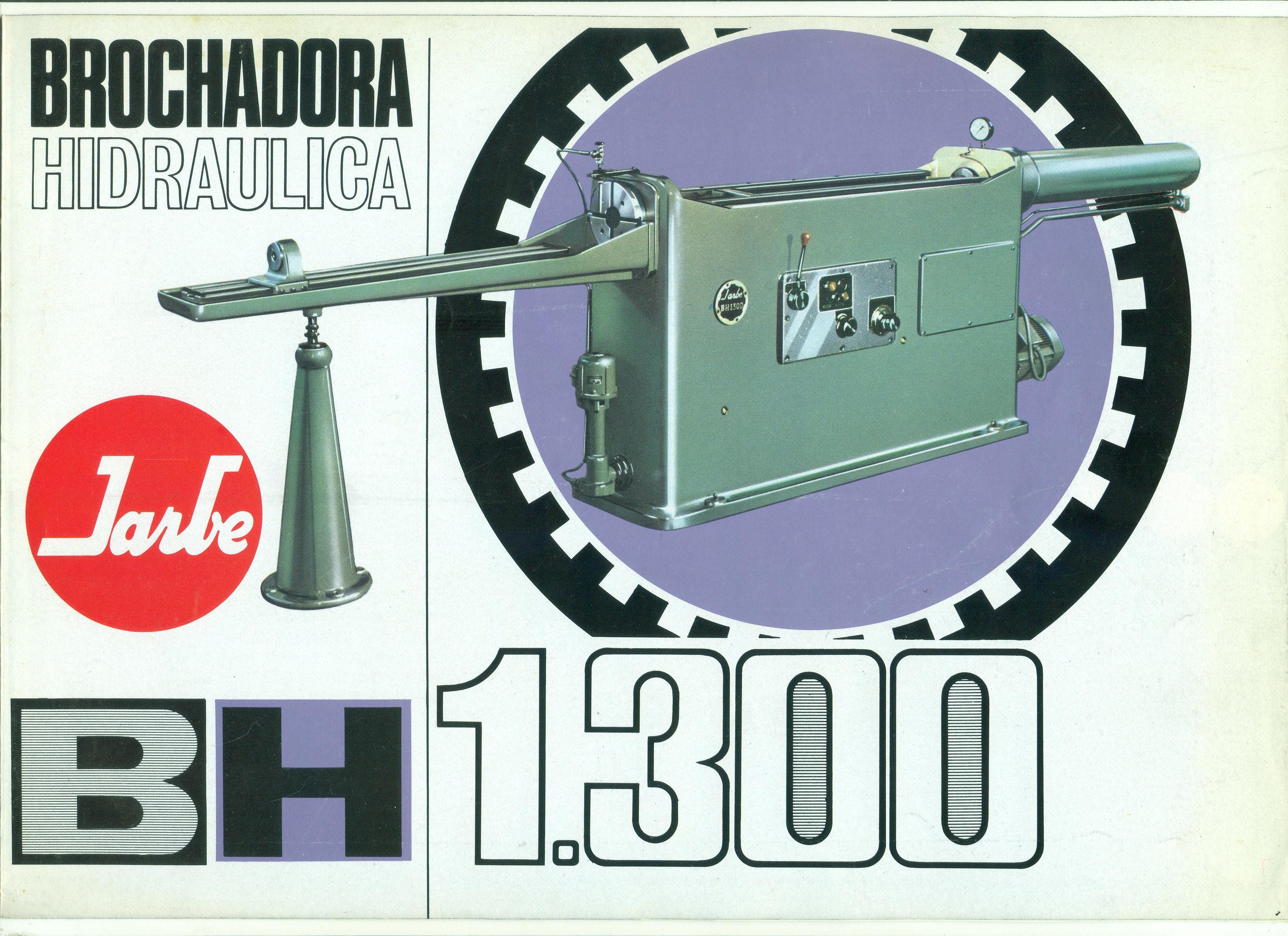 Brochadora hidráulica