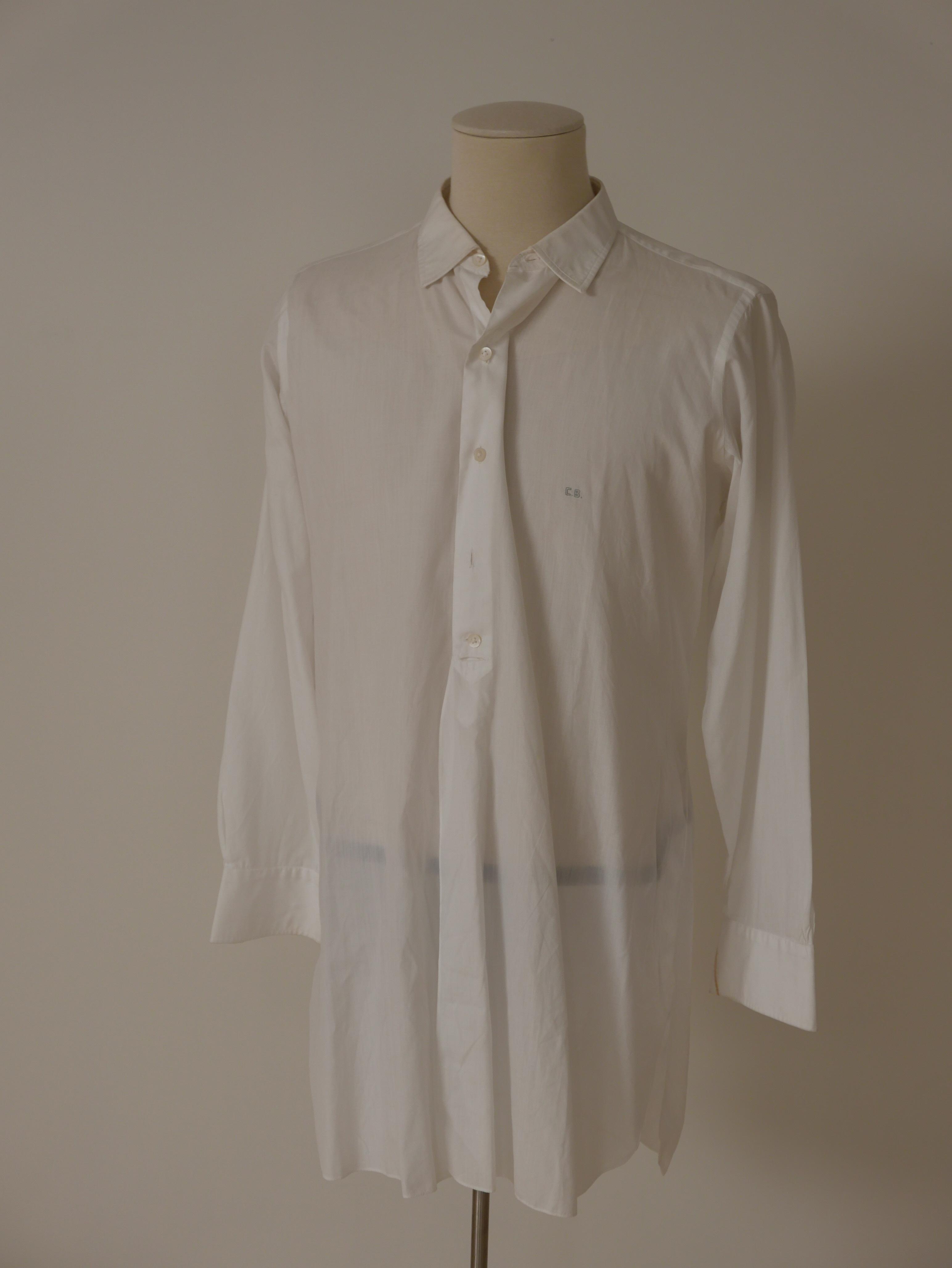 Camisa en batista blanca