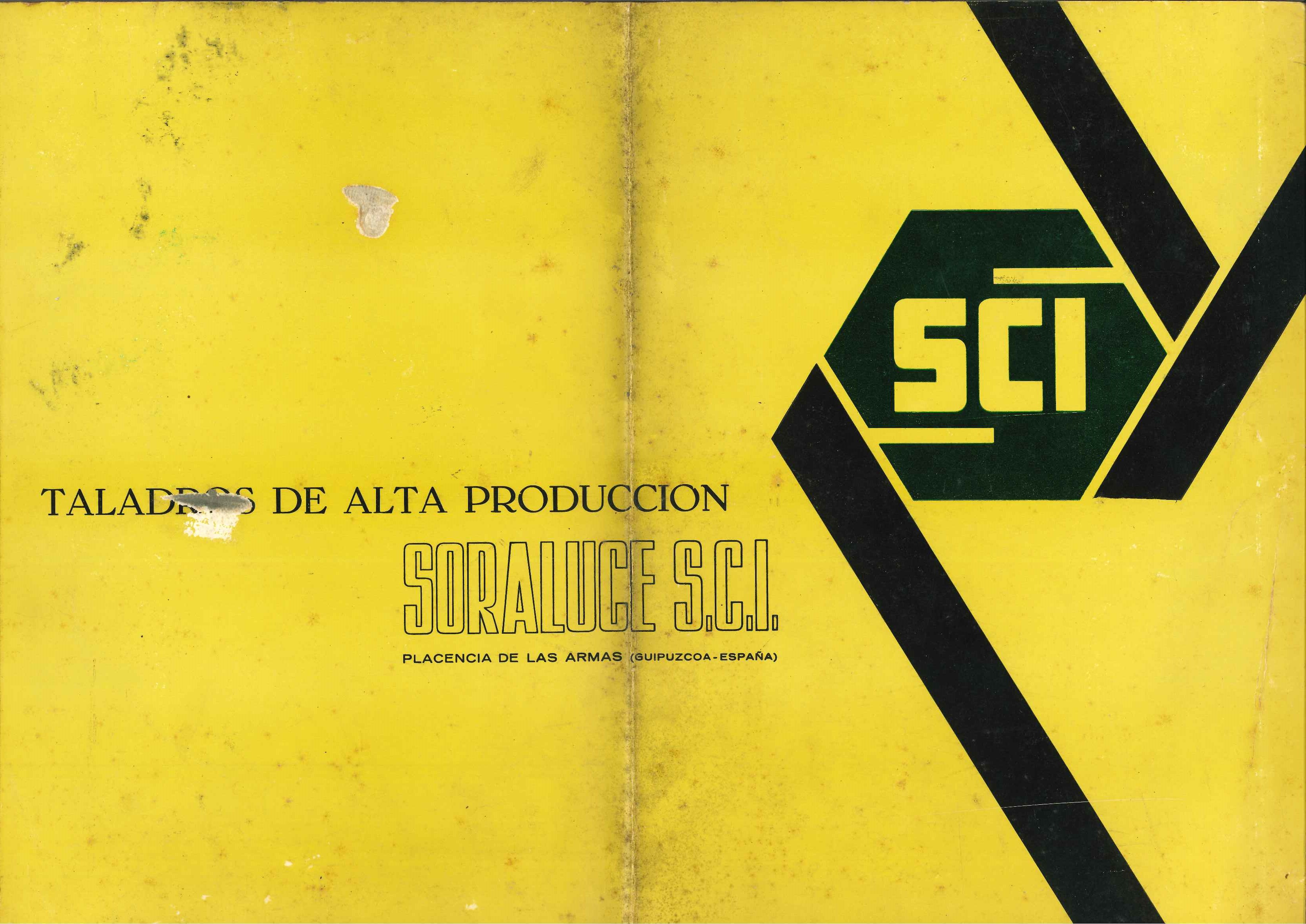 Manual de instrucciones de taladro radial SORALUCE