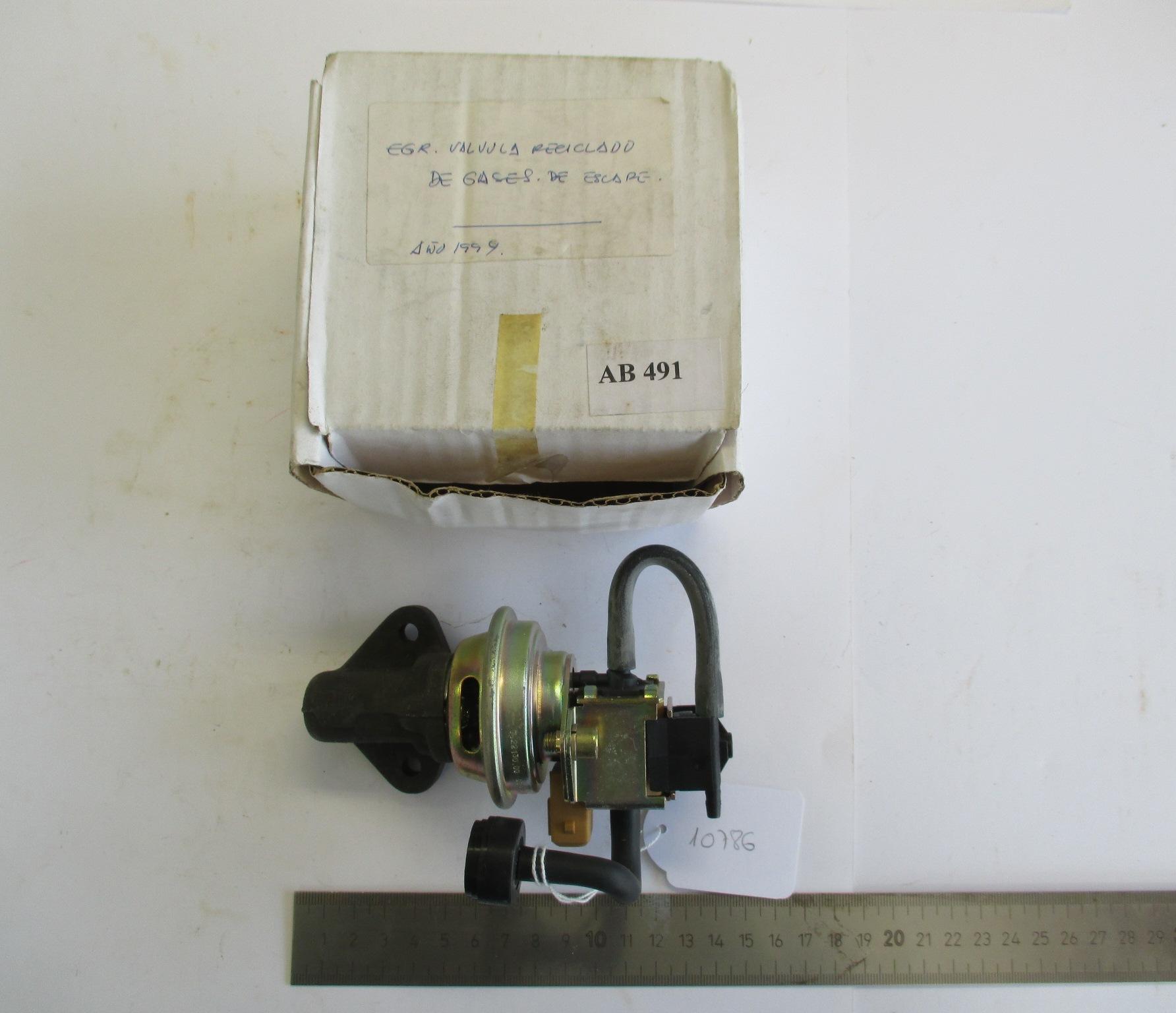 EGR. Válvula reciclado de gases de escape.