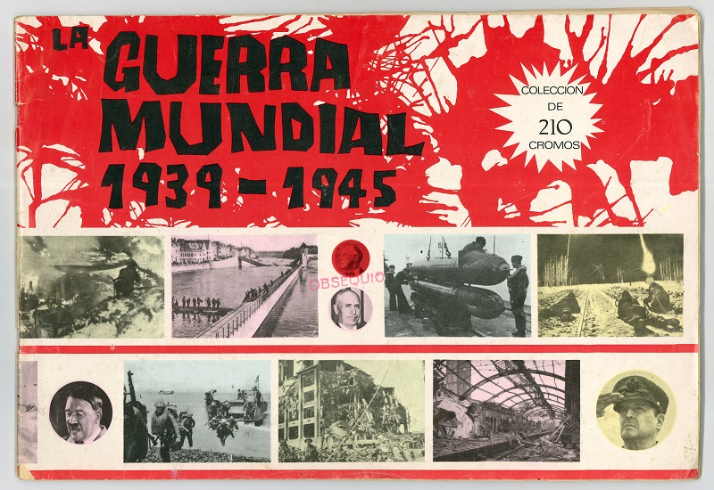 """Álbum de cromos """"La Guerra Mundial 1939-1945"""""""