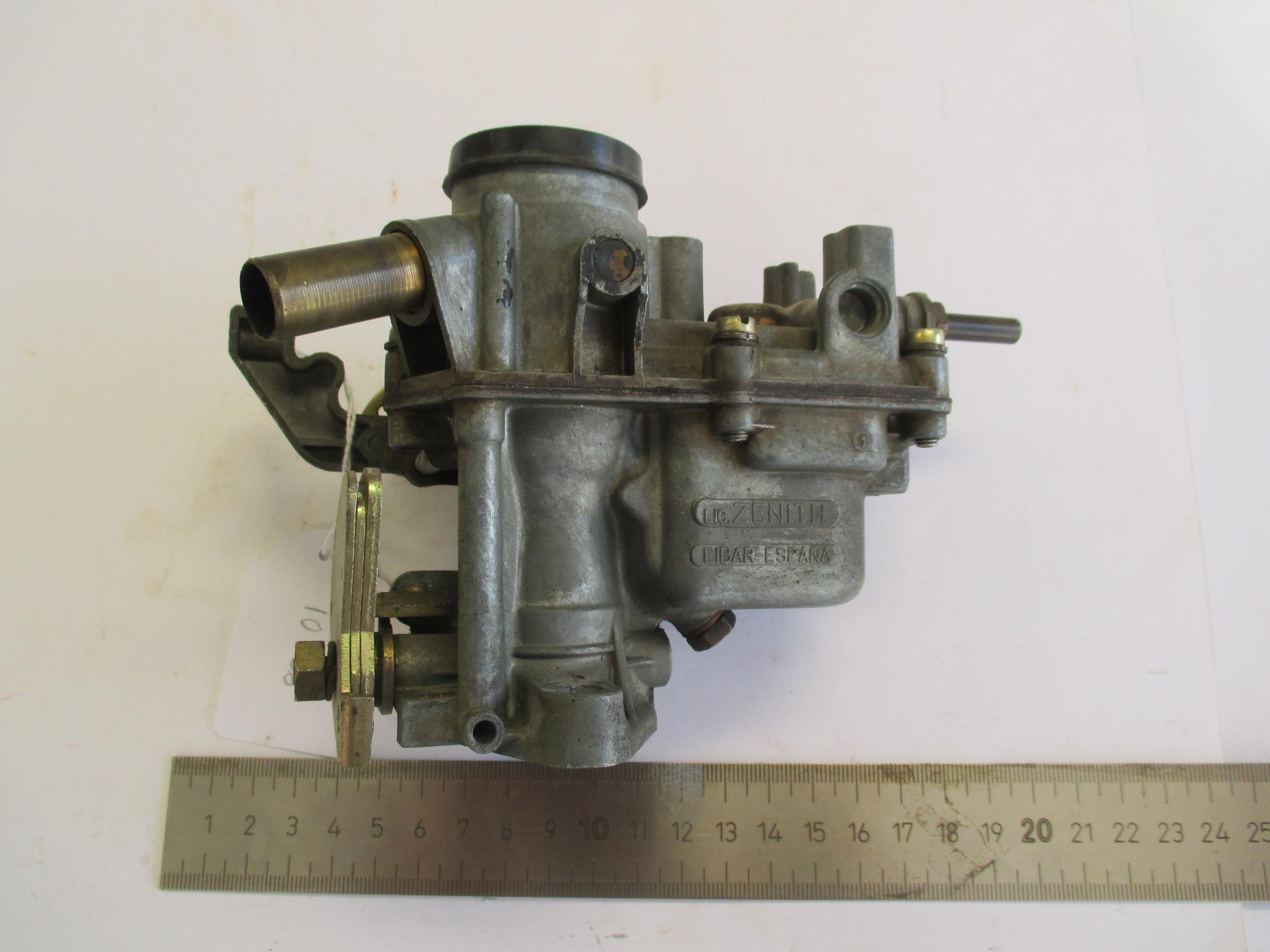 Carburador ZENITH.