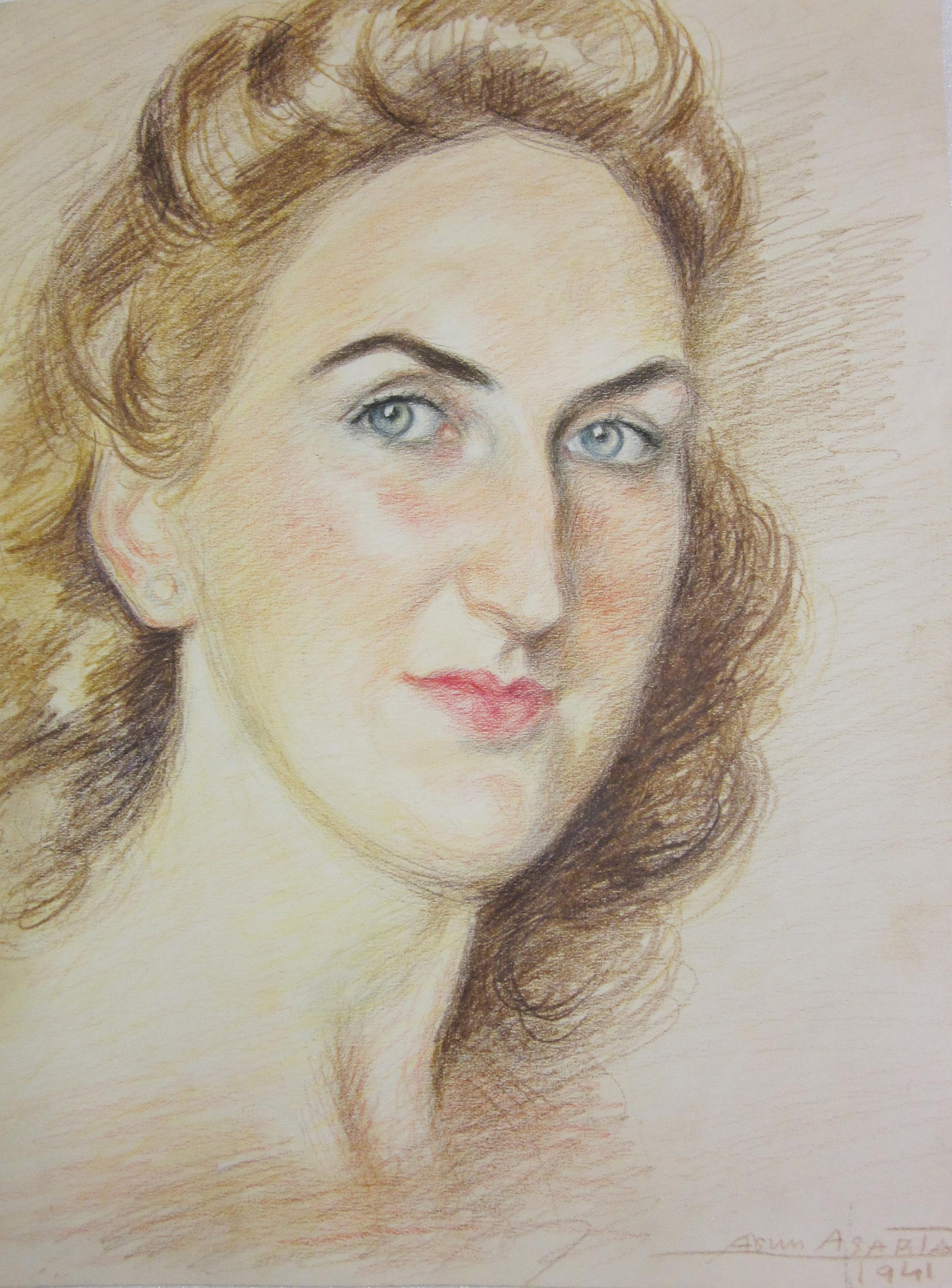 Retrato de Cecilia Azpiazu