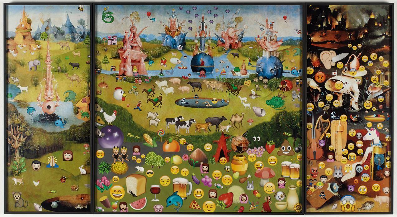 El jardín de las emoji-delicias