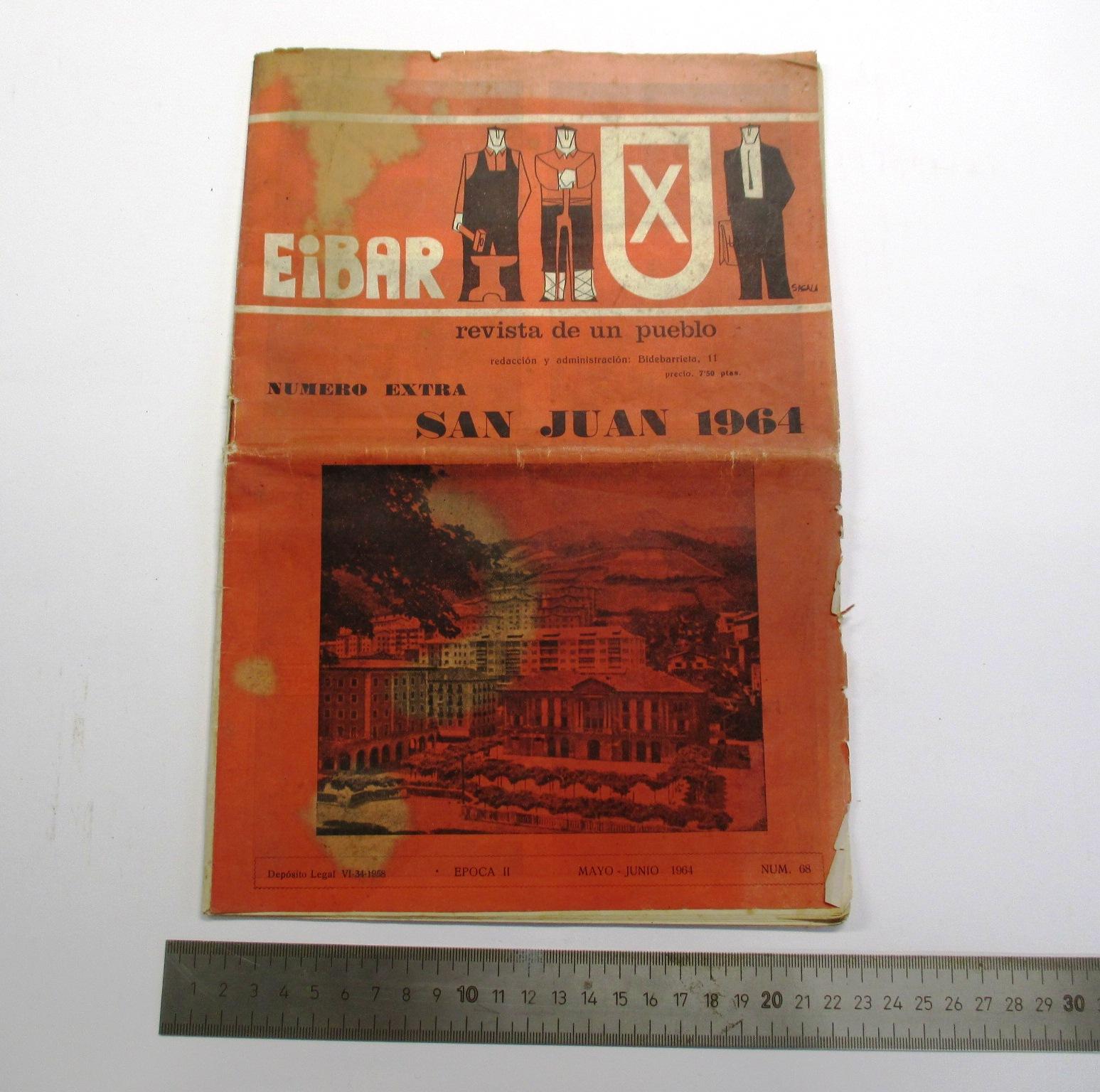 """""""Eibar. Revista de un pueblo"""""""