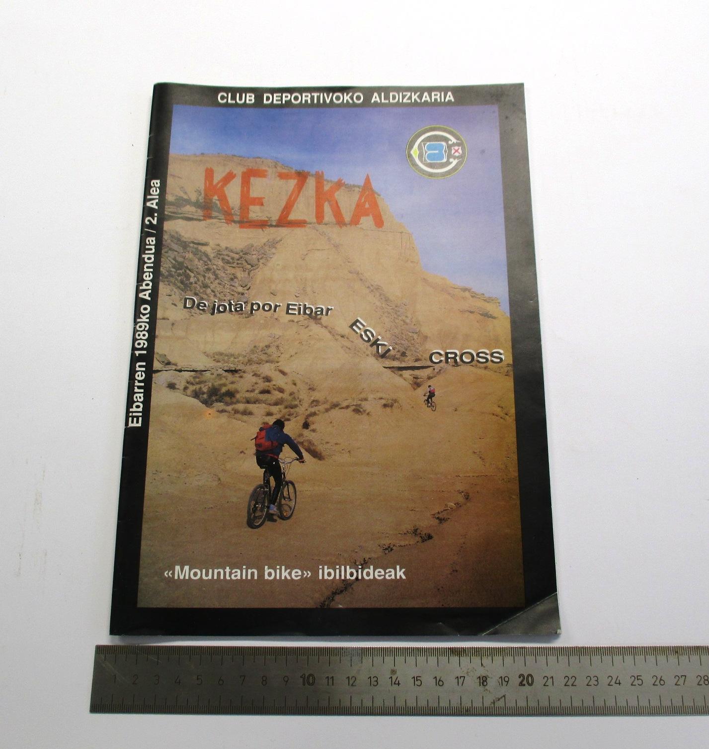Kezka. Revista del Club Deportivo.