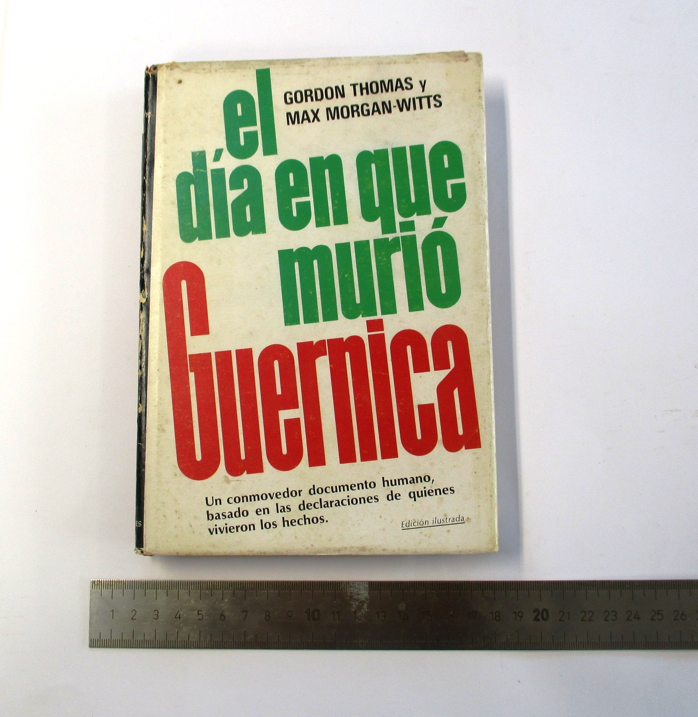 El día en que murió Guernica.