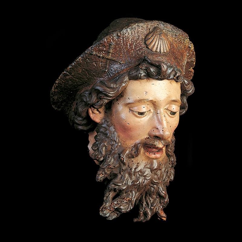 Cabeza del apóstol Santiago