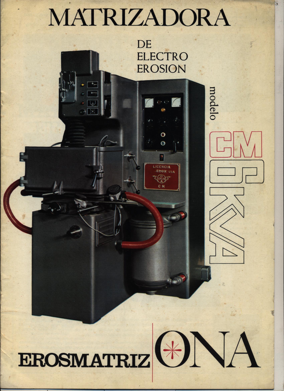 Matrizadora de electroerosión ONA