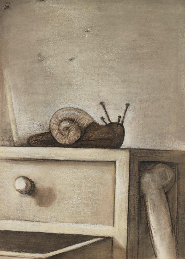 Interior con caracol