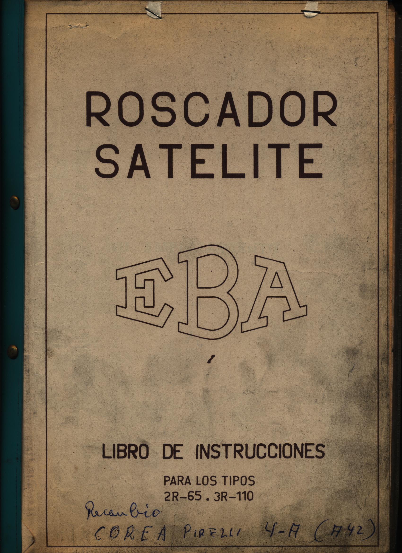 """ROSCADORA """"EBA"""""""