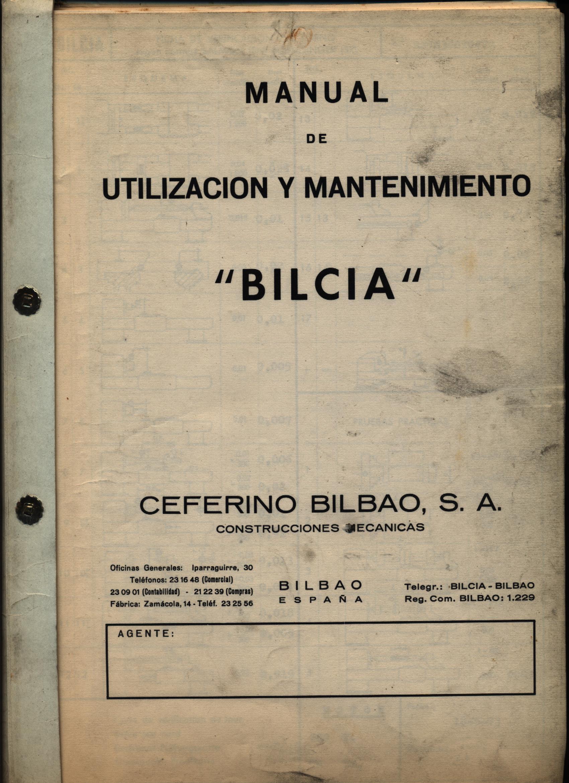 TORNO PARALELO BILCIA