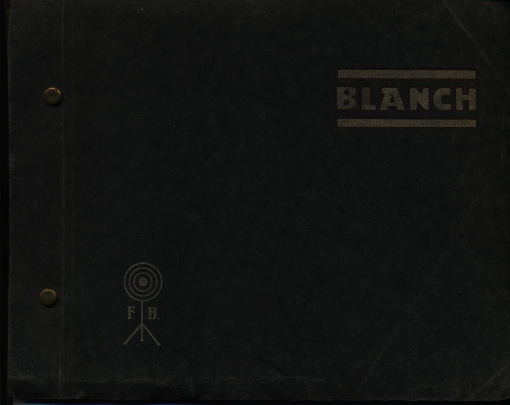 """BLANCH"". Catálogo general"