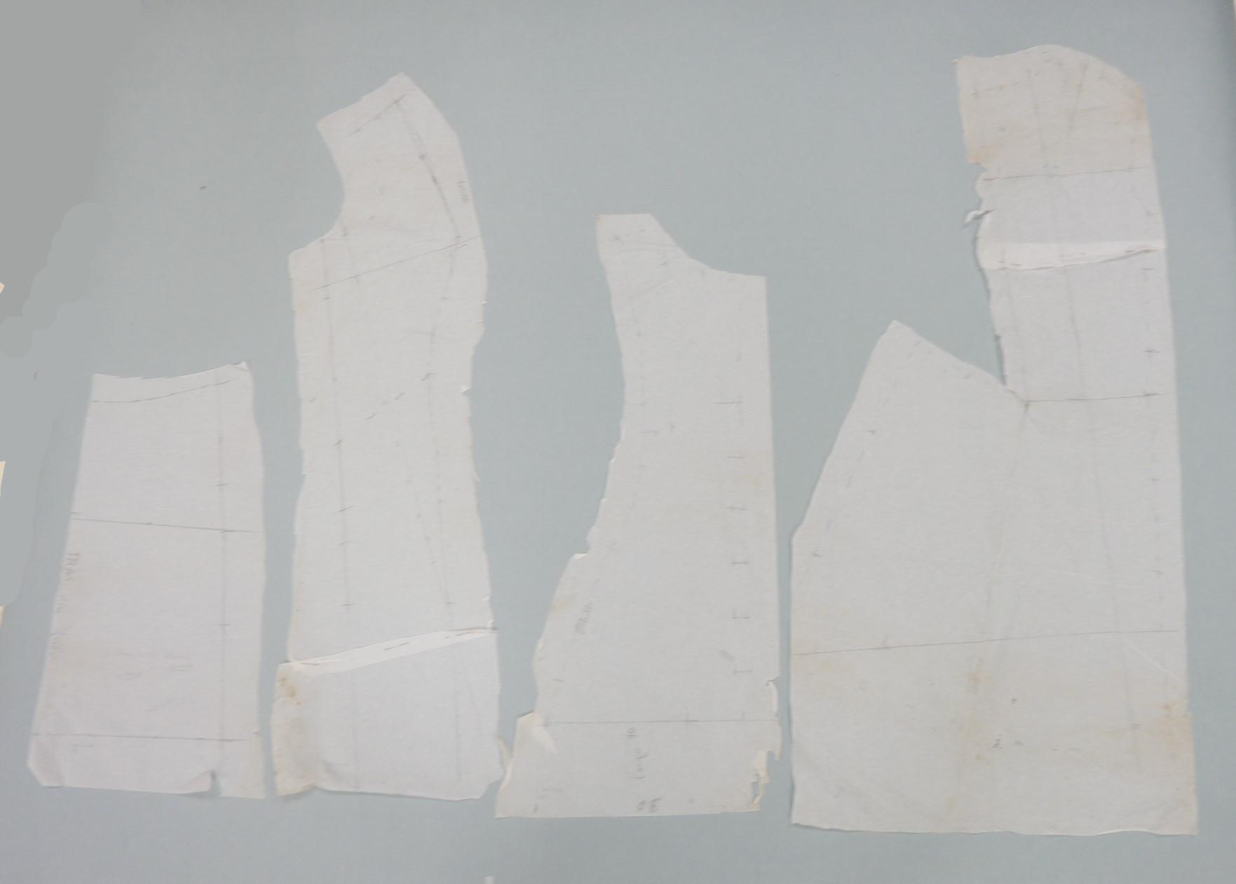 Patrón de papel de seda. Cuerpo