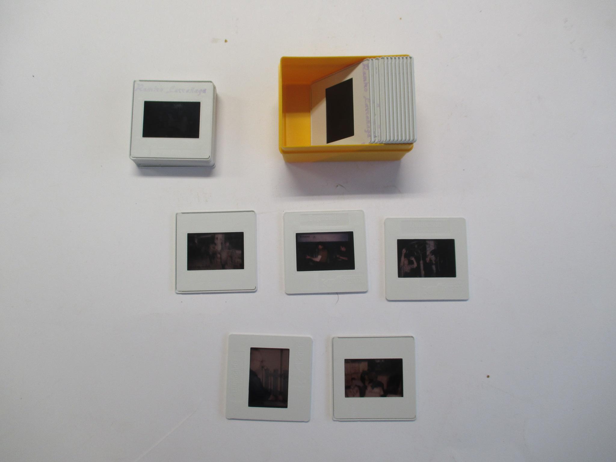 Diapositivas Ramiro Larrañaga
