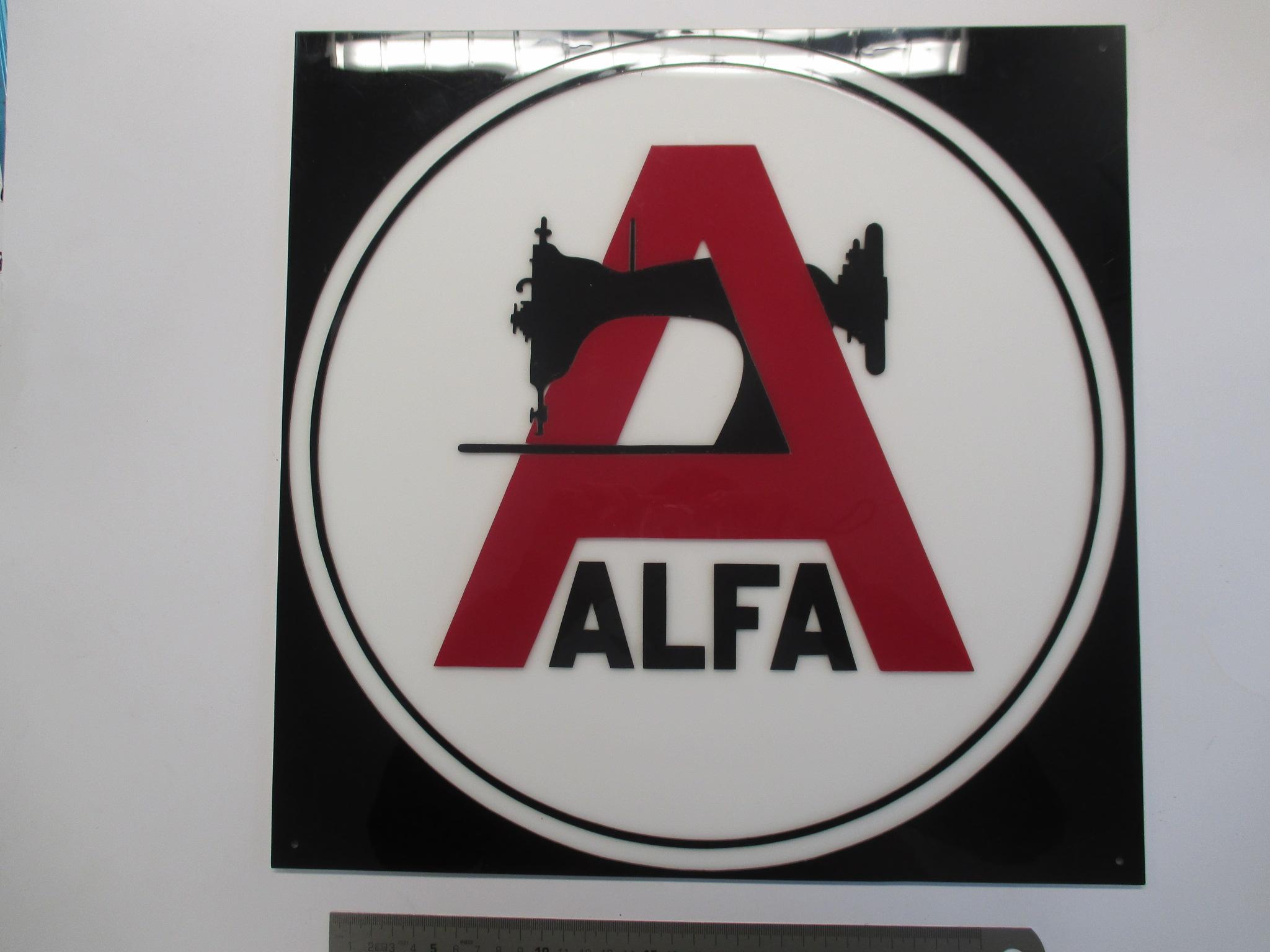 Cartel de ALFA.