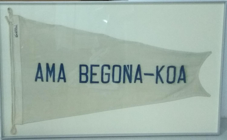 Grimpolón del buque escuela 'Ama Begoñakoa'