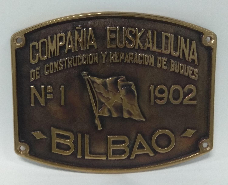 Placa Astillero Euskalduna