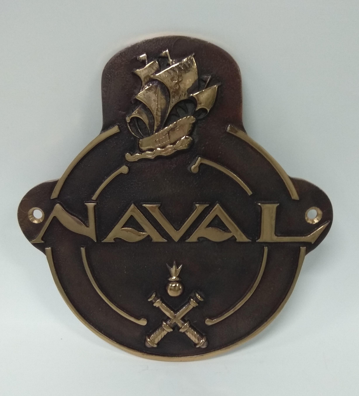 Placa Astillero La Naval