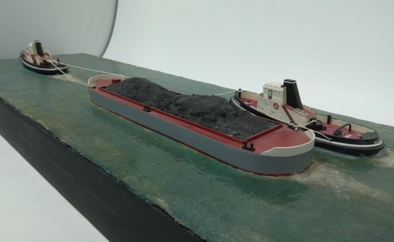 Diorama maniobra remolcadores
