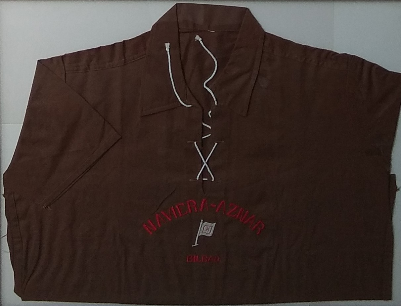 Camisa uniforme de la Naviera Aznar