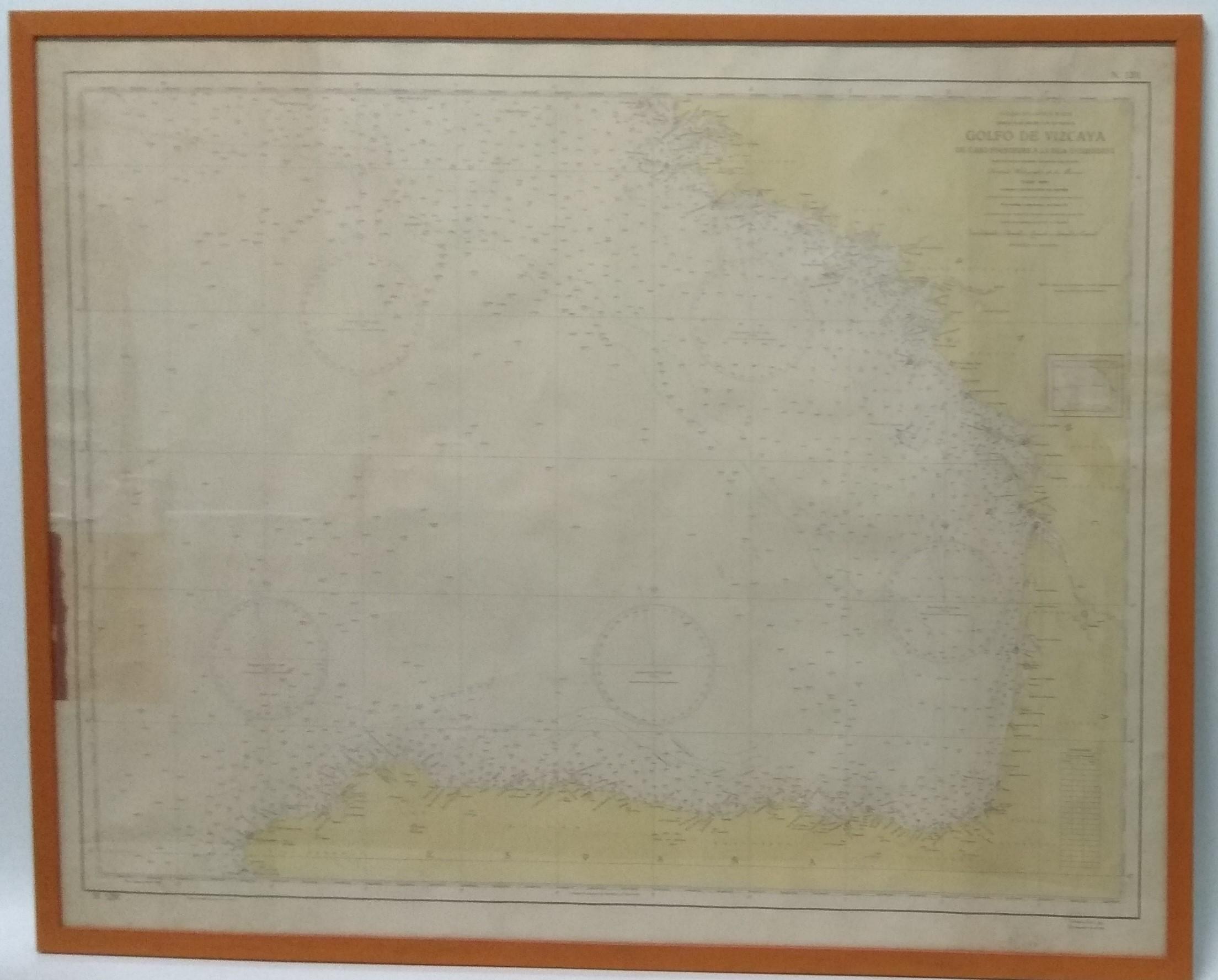 Carta Náutica Golfo de Vizcaya