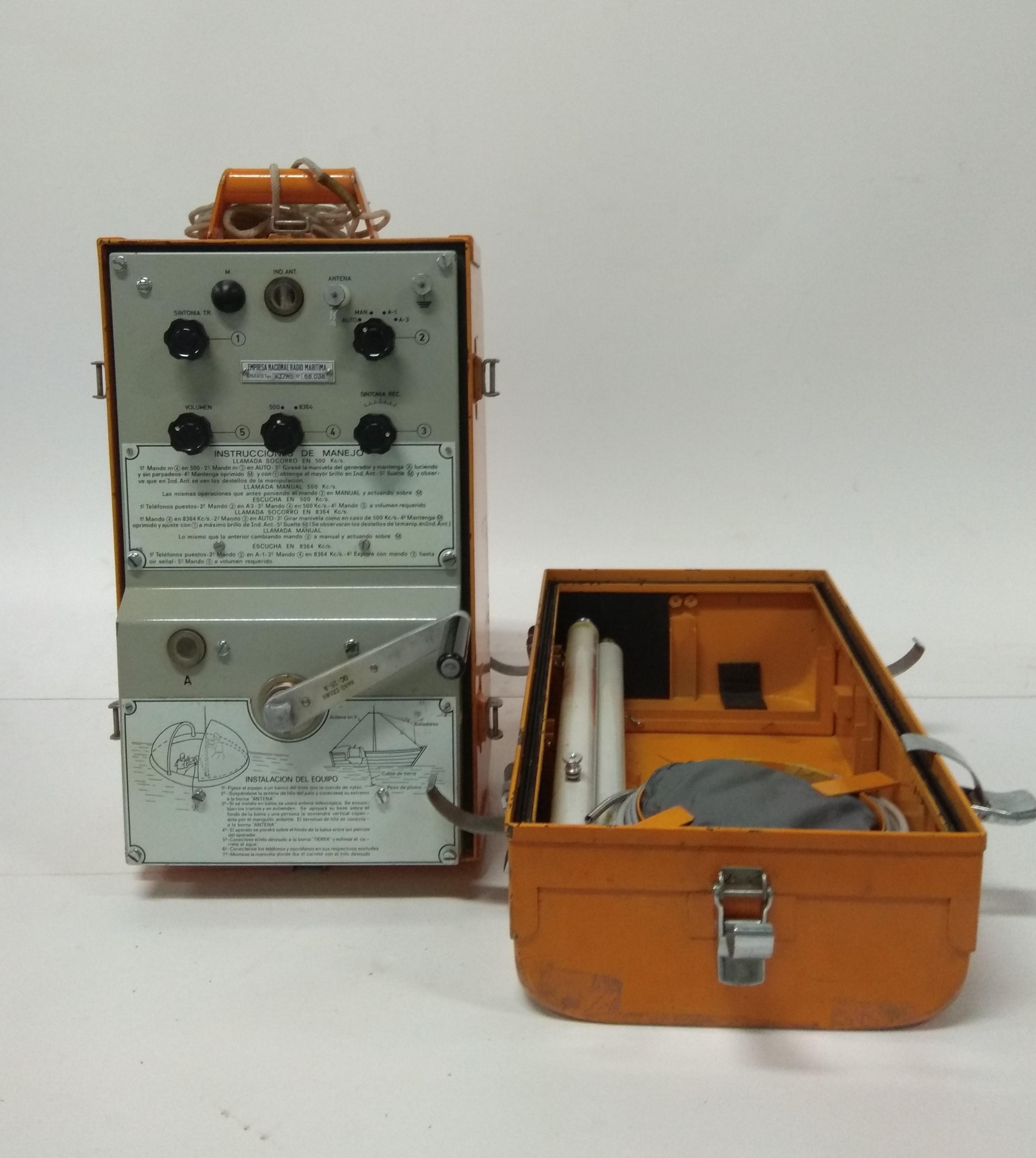 Equipo portátil de radio