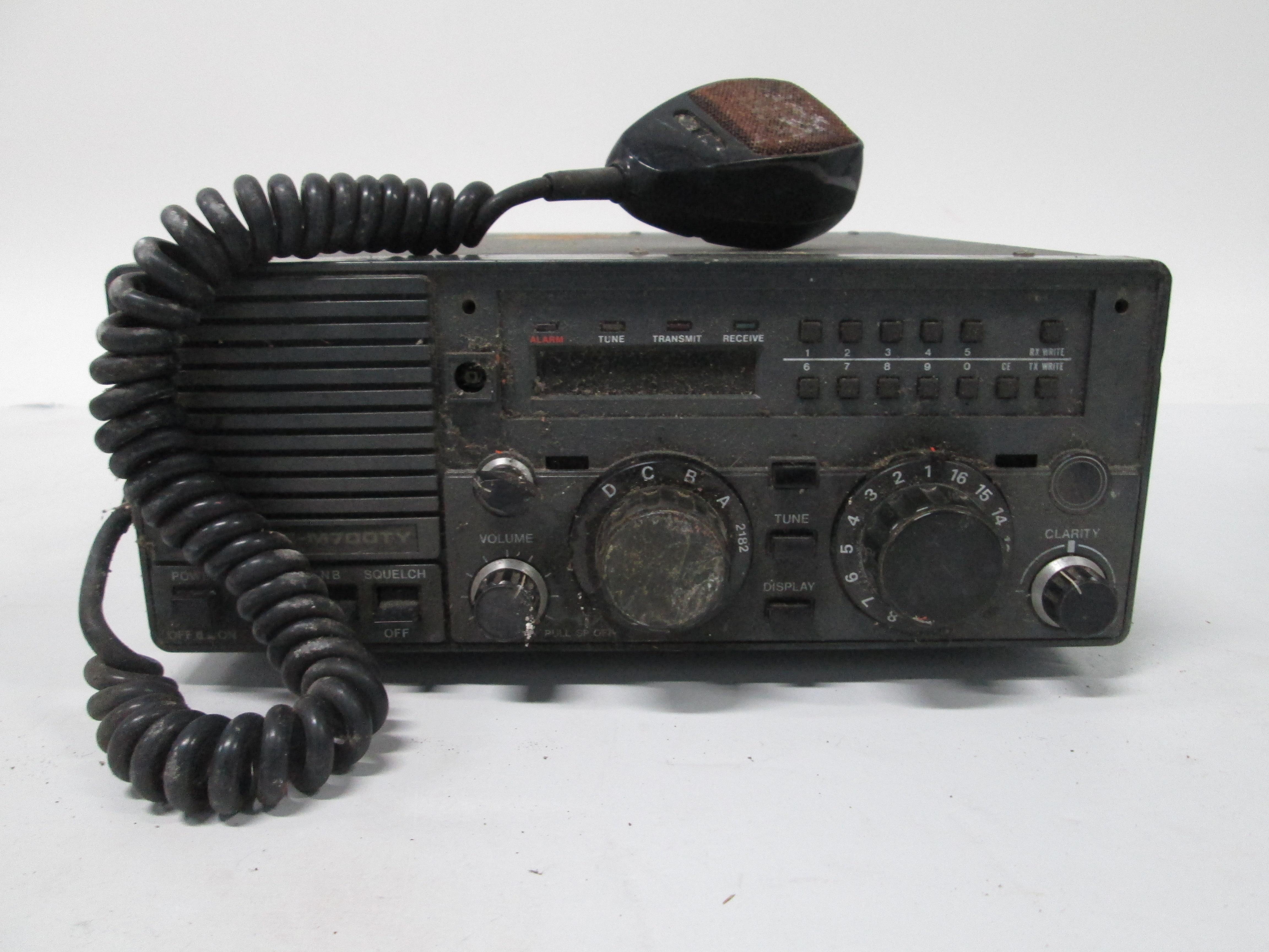 Transceptor de navegación con micrófono
