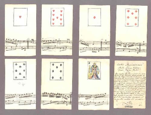 Cartas musicales o de los Mil y un Valses para Piano Forte