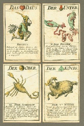 Astronomisches Karten Spiel