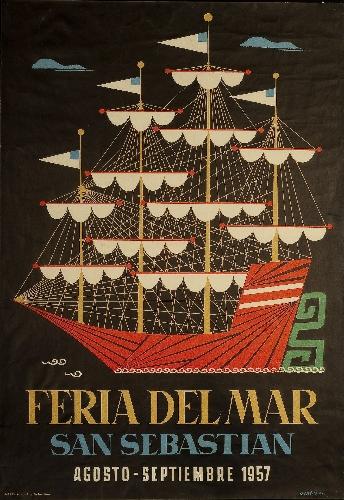 Feria del Mar / San Sebastian / Agosto-Septiembre 1957