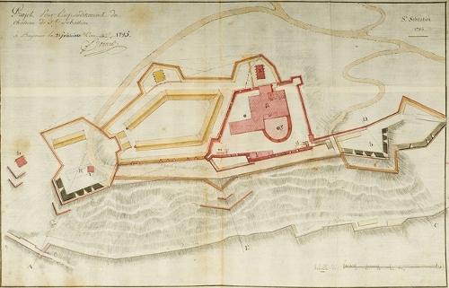 Projet pour l'agrandissement du Chateau de St. Sebastien