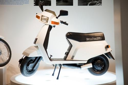 Motocicleta LAMBRETTA. Mod. AMIGA