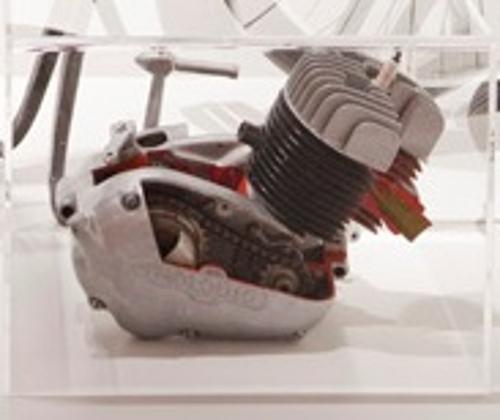 Motor de dos tiempos, 80cc, con 3 velocidades