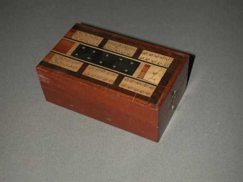 Caja de juego para cribbage