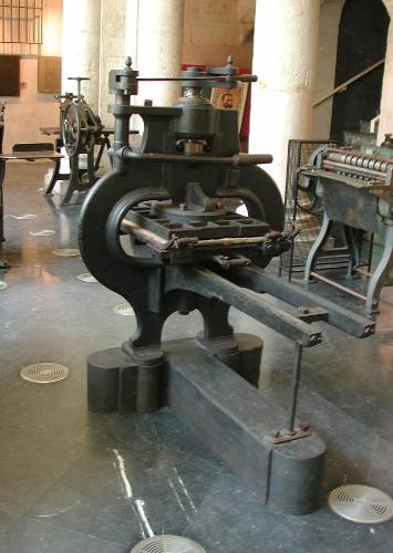 Prensa manual modelo Stanhope