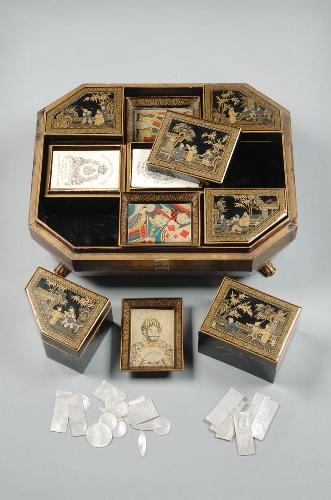 Caja de juego octogonal