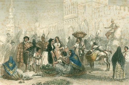 Le marché à Valence