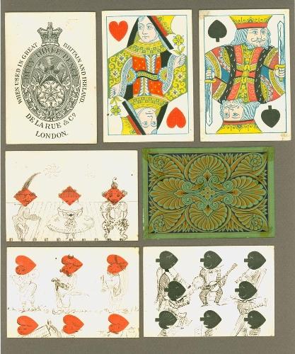 Hand-drawn transformation cards