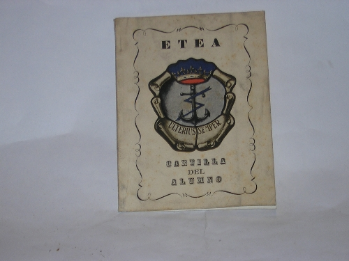 ETEA. CARTILLA DEL ALUMNO