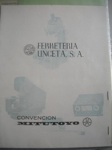 CARPETA DE FERRETERÍA UNCETA, S.A