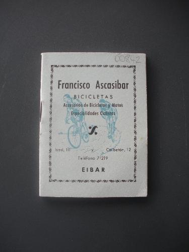 CALENDARIO DE CARRERAS CICLISTAS FRANCISCO ASCASIBAR