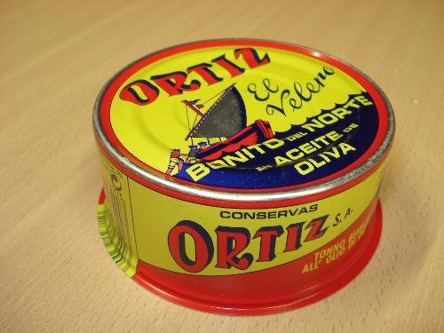 Lata de Bonito del Norte en aceite de oliva ORTIZ EL VELERO