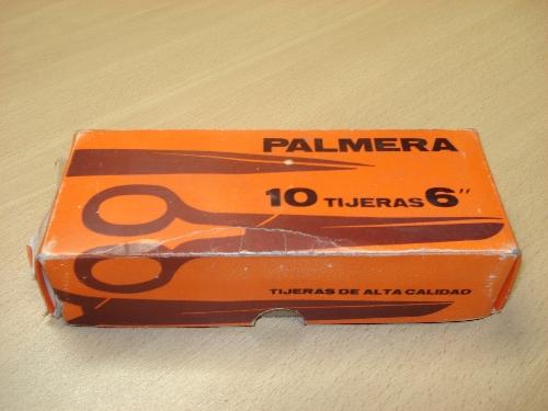 Caja de tijeras de costura tipo Español PALMERA