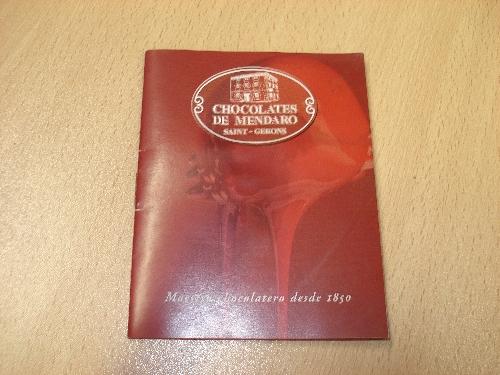 Catálogo de CHOCOLATES DE MENDARO SAINT-GERONS