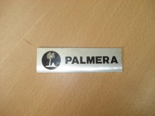 Chapa de la marca PALMERA