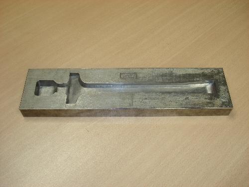 Matriz para el forjado de piezas utilizado en GSB Forja S.A. nº 1055