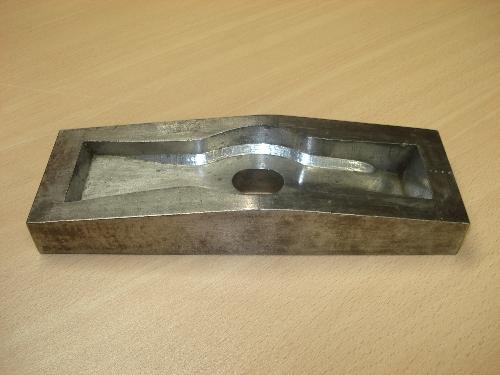 Matriz para el forjado de piezas utilizado en GSB Forja S.A. nº 5306