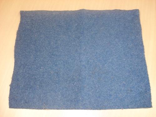 Moqueta azul PATRICIO ELORZA
