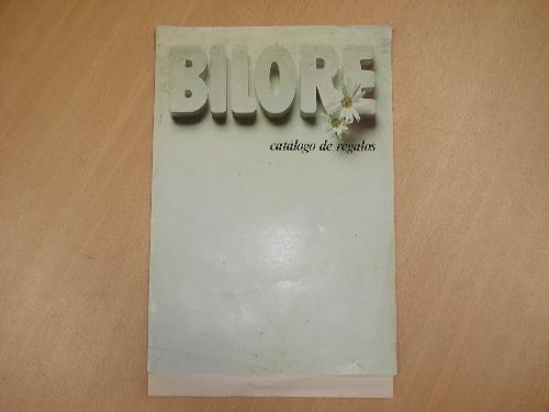 Catálogo de regalos BILORE